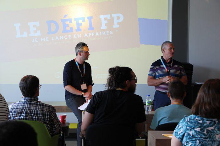 Retour sur le Défi FP de la Commission scolaire des Navigateurs et de la formation professionnelle.