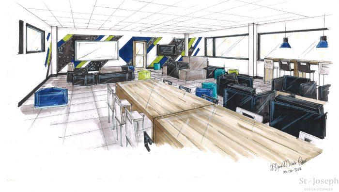 Un espace entrepreneurial au Centre de formation professionnelle Gabriel-Rousseau