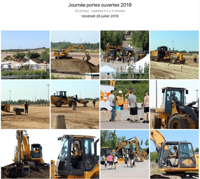 Journée portes ouvertes 2019 , au Centre national de conduite d'engins de chantier - Toutes les photos