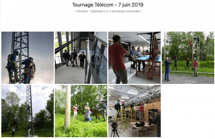 Tournage Installation et réparation d'équipement de télécommunication au Centre de formation professionnelle Gabriel-Rousseau - toutes les photos