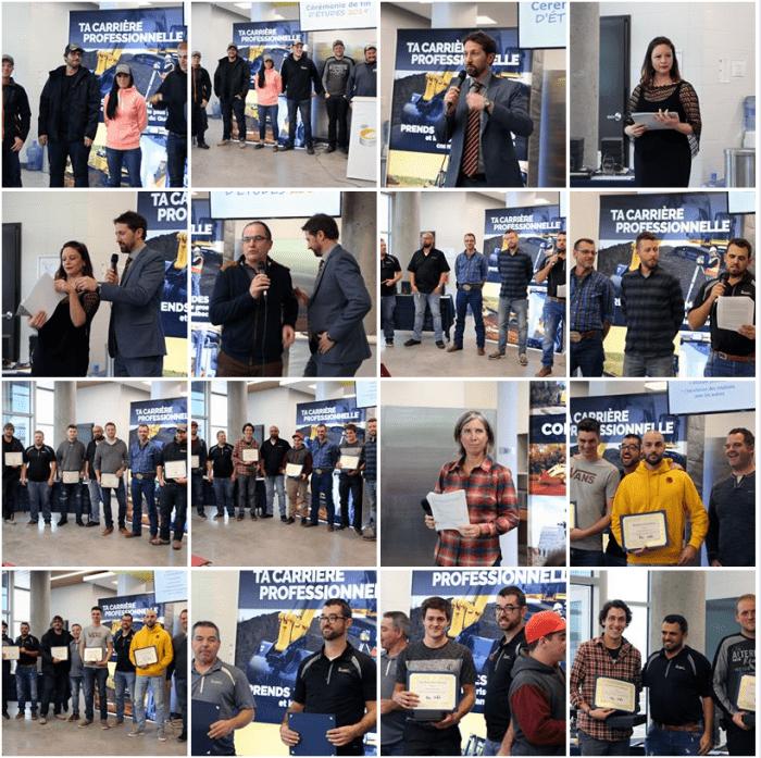 Gala des finissants 2019 du Centre national de conduite d'engins de chantier - Album Facebook