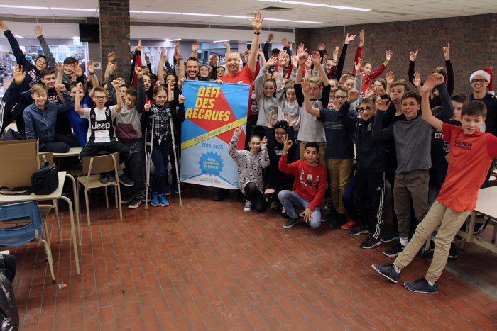 Défi des recrues : félicitations aux écoles gagnantes !-POINTE-LEVY