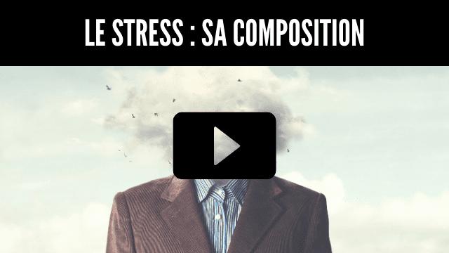 Le stress - Sa composition