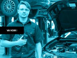Je veux m'inscrire pour le DEP Mécanique automobile, du Centre de formation professionnelle de Lévis